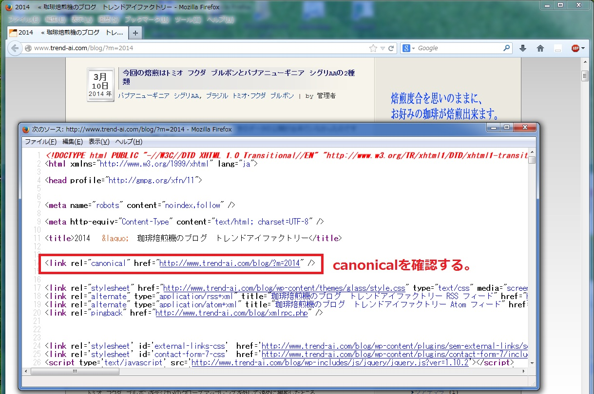 canonicalを探す